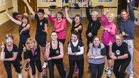 JM DanceFit members from Sidmouth, Sidford, Seaton and Exeter will walk, zumba and wiggle their way