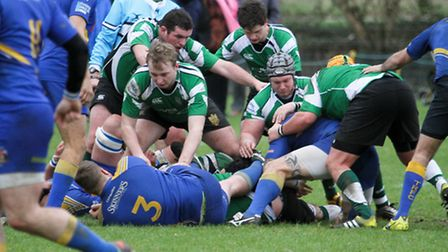 Sidmouth chiefs at home to Truro. Ref shsp 05-16TI 0069. Picture: Terry Ife