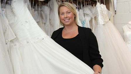 Naomi Thomas from the Wedding Wishing Well Foundation. Ref shs 5722-30-15SH. Picture: Simon Horn