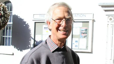Nigel Hyman takes over as Sidmouth Museum curator. Ref shs 1908-42-15AW. Picture: Alex Walton