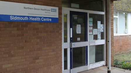 The Sidmouth Health Centre on Blackmore Drive. Ref shs 10-16SH 7178. Picture: Simon Horn