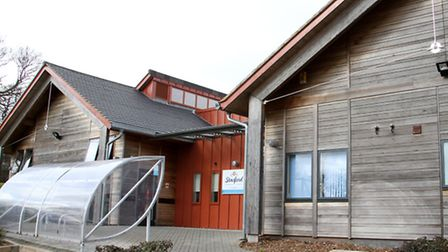 Stowford Community Centre. Ref shs 10-16TI 2583. Picture: Terry Ife
