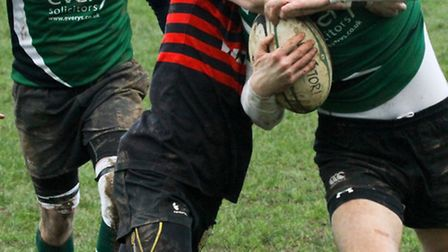 Sidmouth 3rds were at home to Cullompton at the weekend. Ref shsp 10-16AW 0043. Picture: Alex Walton