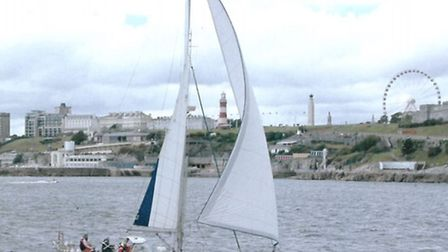 Julia will be sailing her boat The Dutchman in the Eddystone Charity Sailing Pursuit