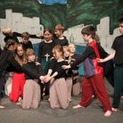 Students in years five and six at St John's School in Sidmouth performed The Comedy of Errors as the