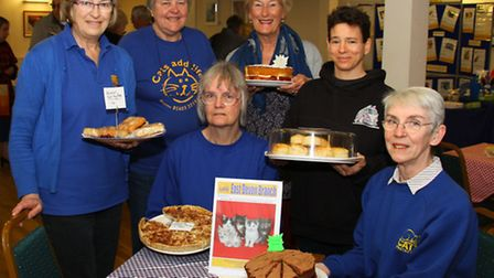 Cats Protection, East Devon branch, held a fundraising coffee morning at Kennaway House recently. Re