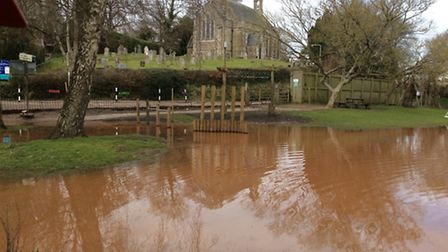 Tipton St John Primary School is once again hit by flooding and needs the community to help clean it