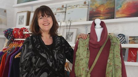 Louise Cross, pictured in her new shop: The Veranda in Libra Court. Ref shs 12-16SH 8628. Picture: S