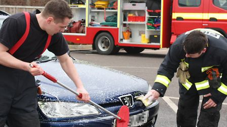 Ottery St Mary Fire Station will be holding a car wash this weekend