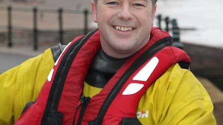 Mark Roden is standing down from the Sidmouth Lifeboat team