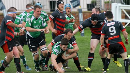 Sidmouth Chiefs were at home to Penryn on Saturday. Ref shsp 16-16AW 2905. Picture: Alex Walton