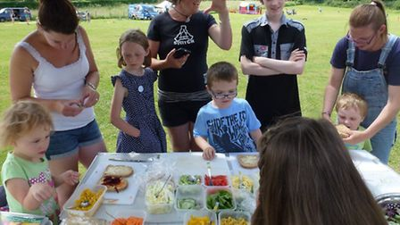 HALFF will run children's cooking classes at the first Sid Valley healthy living festival