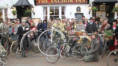Velo vintage in Sidmouth. Ref shs 7839-50-15TI. Picture: Terry Ife