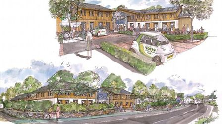 How Fords' business park could look