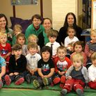 Children and staff at the Byes Pre-School are celebrating following their good Ofsted report. Ref sh
