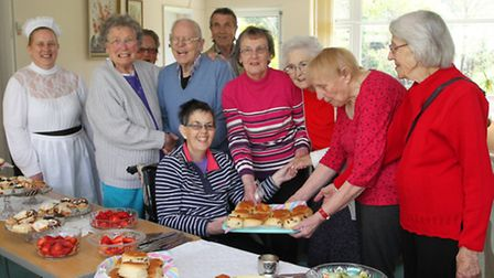 A Victorian cream tea was held at the Lymebourne Park community centre on Saturday. Ref shs 18-16SH