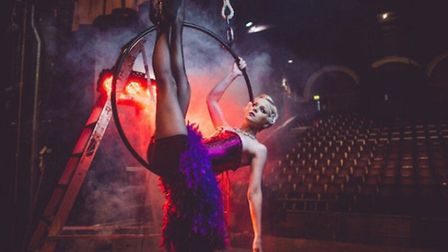 Kirstie is bringing aerial hoop classes to Sidmouth
