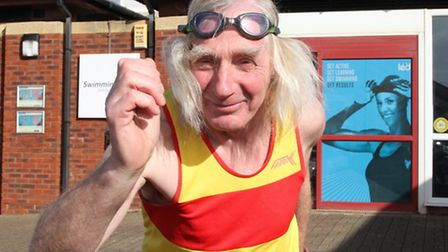 Bill Valentine will be taking part in a Aquathon in Dawlish on April 3 which involves a 300m swim fo