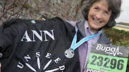 Ann Evans, 76, is taking on a four mile run to raise money for PFP