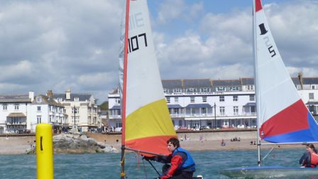 Sidmouth Sailing Club is joing the RYA's Push the Boat Out initiative to help residents take to the