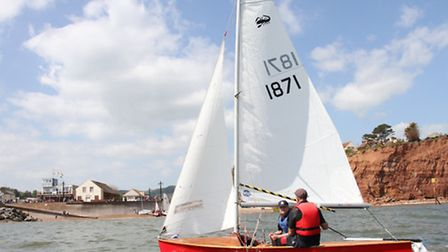 The Sidmouth Sailing Club held a very successful 'Push the Boat Out' RYA initiative on Saturday givi