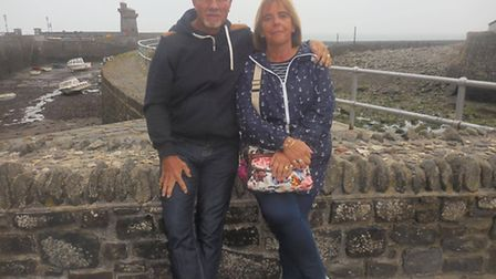 Paul and Diana Lloyd have shed the weight of a person between them over the last two years.
