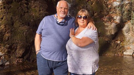 Paul and Diana Lloyd dropped 10 stone between them