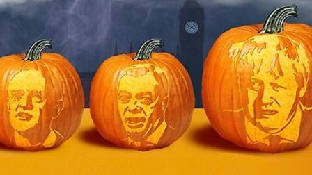 The new 'Westmonsters' pumpkin carving kit from Groupon. Photograph: Groupon.