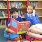 Children are taking part in the 'silver stories' initiative at Newton Poppleford Primary School