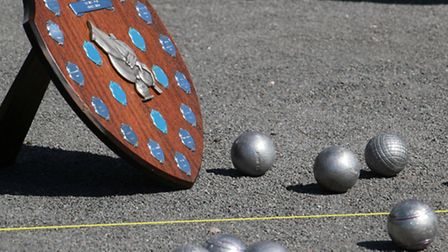 Ottery Petanque Club charity shield. Ref shsp 20-16TI 1013. Picture: Terry Ife