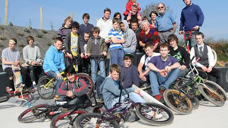 The opening of Ottery St Mary skate park. Photo by Simon Horn. Ref sho 7005-15-12SH. To order your c