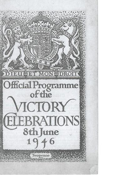 The official programme of the victory celebrations