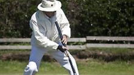 Croquet action from Sidmouth