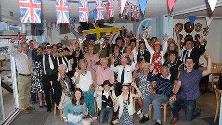 Members of Sidmouth Sailing Club celebrate 80 years. Credit: Adele Salter