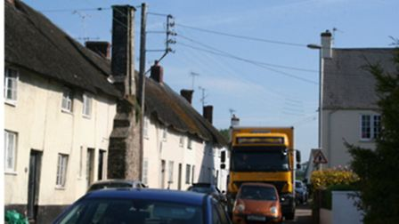 Councillor Marianne Rixson is worried that HGVs going along School Street are too big and will cause