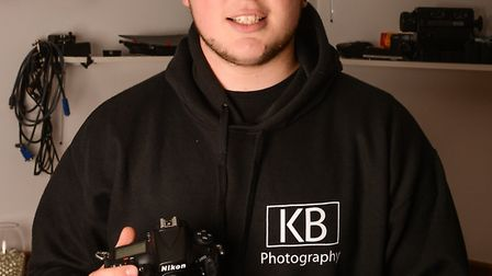 Kyle Baker has started his own photography business