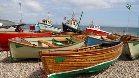 Boats on Beer Beach Ref shb 26-16AW 1146. Picture: Alex Walton
