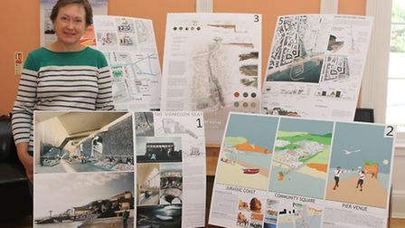 The exhibition of ideas complete with voting slips for the re development of Port Royal will be at K