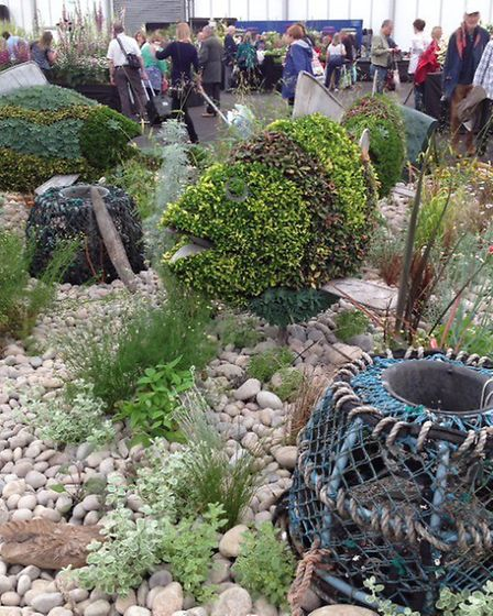 Sidmouth in Bloom's display at Gardeners' World Live