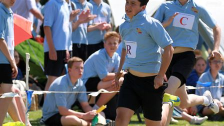 Kings school sports day. Ref sho 29-16TI 4533. Picture: Terry Ife