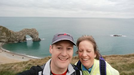 Tracey and Guy Paddon took on a marathon challenge to raise £4,800 for FORCE