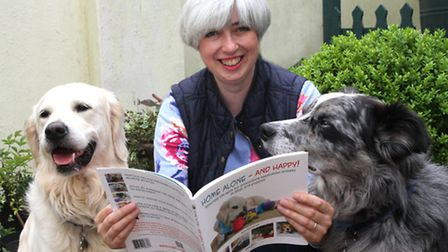 Newton Poppleford resident Kate Mallatratt has just had her first book published; Home Alone - And H