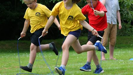 Federation schools from Branscombe, Farway and Broadhembury took part in their own Olympics at the e
