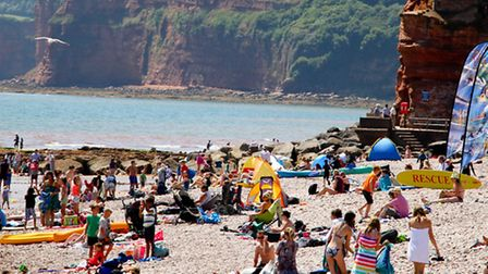 Summer holiday views around Sidmouth. Ref shs 30-16AW 3386. Picture: Alex Walton