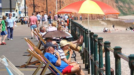 Summer holiday views around Sidmouth. Ref shs 30-16AW 3370. Picture: Alex Walton