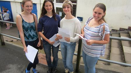 GCSE results day at The King's School