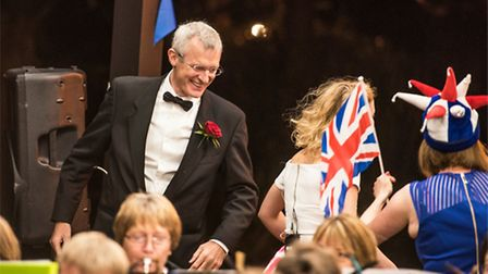 Sidmouth Town Band performed The Last Night of The Proms at Connaight Gardens. Picture: Kyle Baker