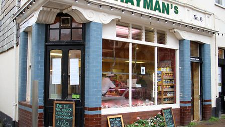 Hayman's butchers. Ref shs 6503-46-15TI. Picture: Terry Ife