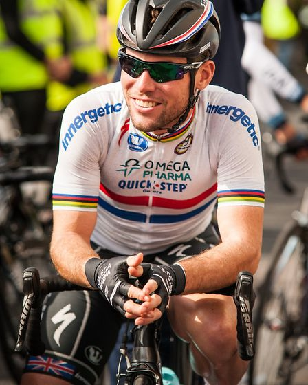 Mark Cavendish MBE will be part of Team Dimension Data.