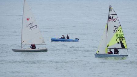 Sailing off Sidmouth